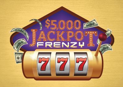 $5,000 jackpot frenzy logo