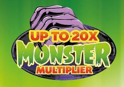 Up to 20 times the reward points multiplier logo