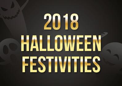 2018 Halloween Festivities in black