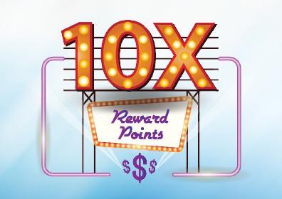 10X Reward Points Multiplier logo