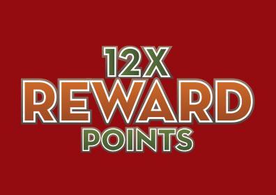 12X Reward Points logo