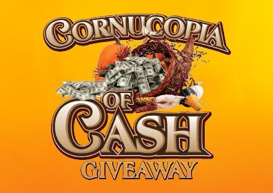 Cornucopia of Cash Giveaway logo
