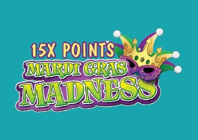 Mardi Gras Madness 15x multiplier logo image
