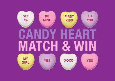 Candy Heart Match & Win logo
