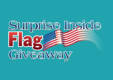Surprise Inside Flag Giveaway image