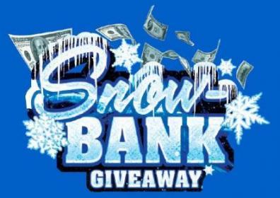Snow Bank Giveaway logo