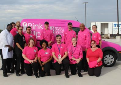 Staff at Pink up Cape image