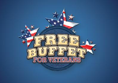 Free Buffet for Veterans logo