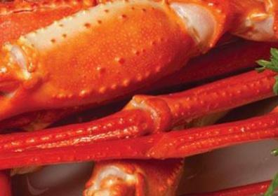 Close up Image of crab legs