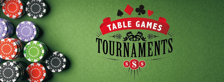 Table game tournament logo