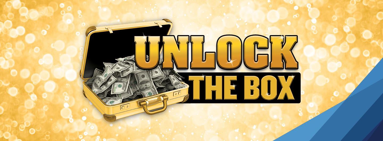 Unlock the box logo