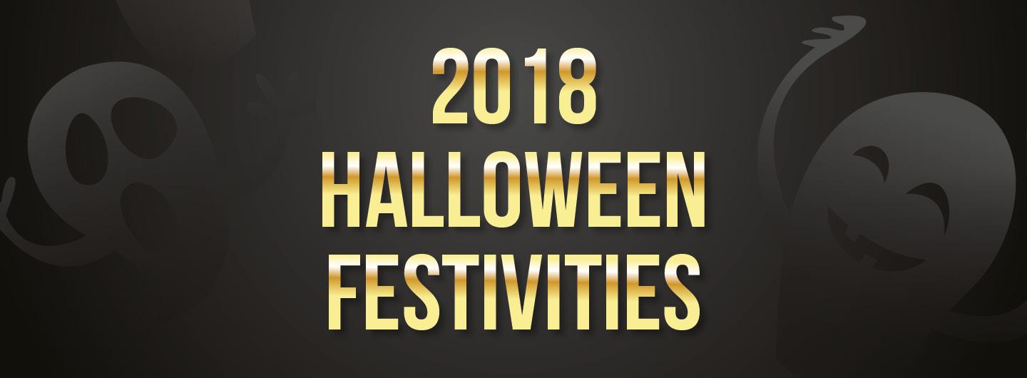 2018 Halloween Festivities logo in black