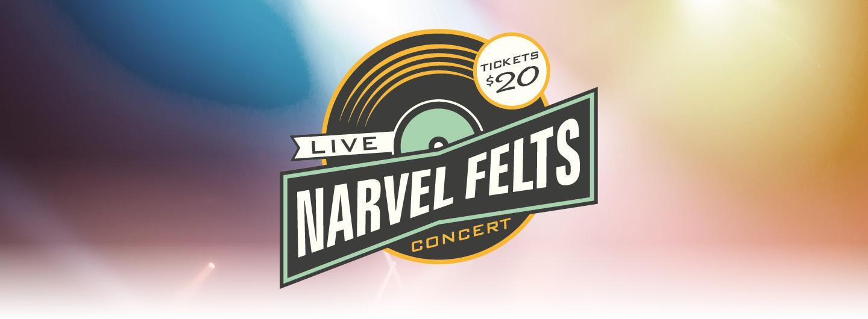 Narvel Felts concert logo