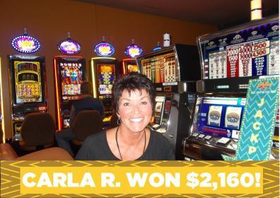 Carla R. Jackpot Winner