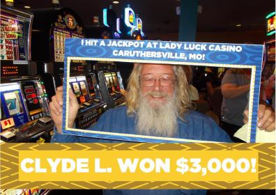 Clyde L. Jackpot Winner
