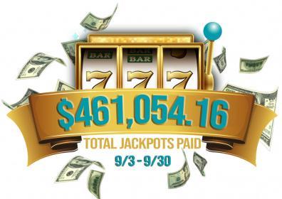 September Jackpot total
