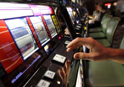 Slot Machine hand
