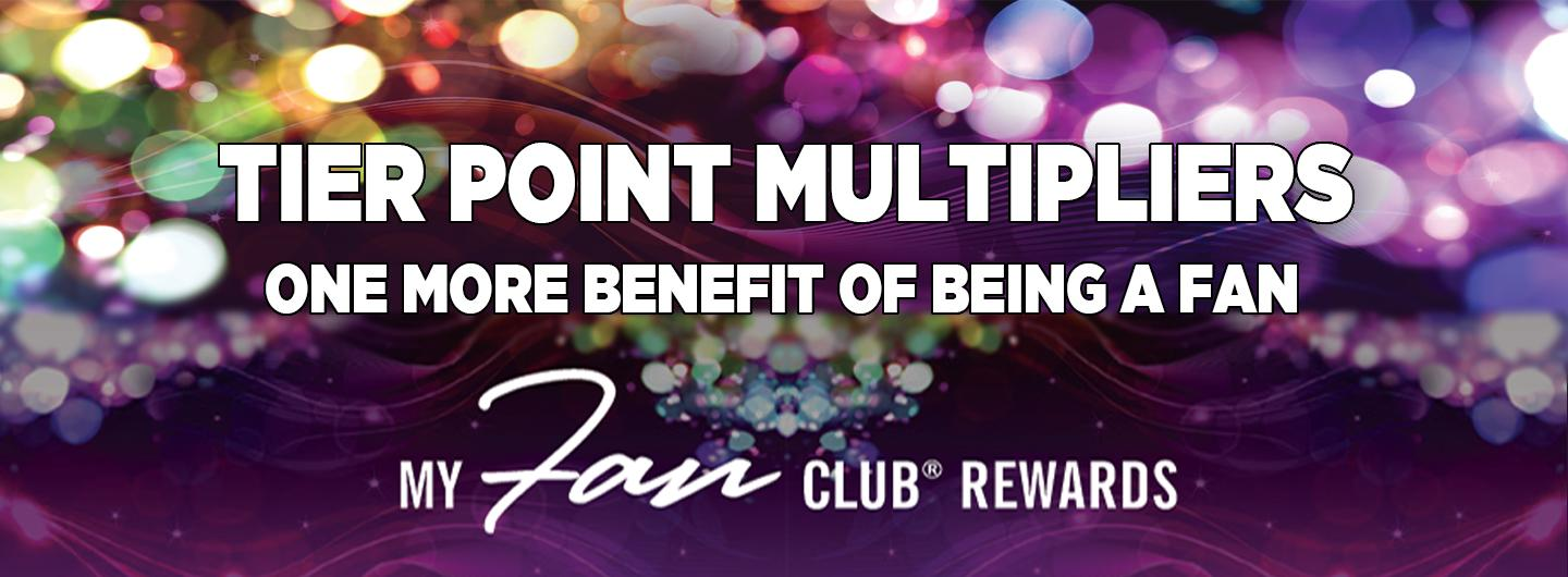 Tier Point Multipliers