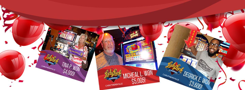 3 July Jackpot Winners