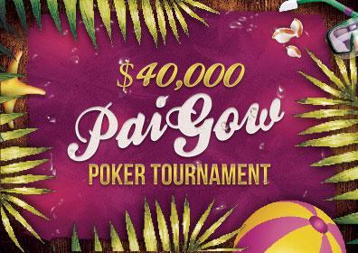 $40,000 Pai Gow Poker Tournament Logo