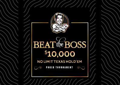 Beat the Boss Logo featuring Gregg Carano