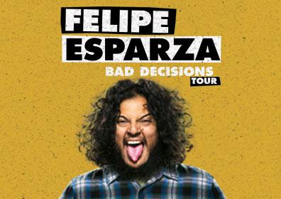 Felipe Esparza laughing