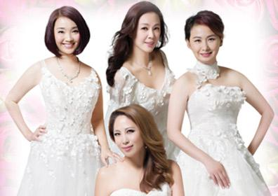 The Four Divas featuring Karen Tong 湯寶如, Linda Wong王馨平,  Joyce Lee李樂詩, Maple Hui 許秋怡