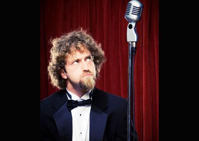 Josh Blue and Microphone