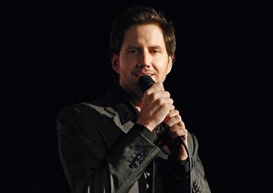 Jamie Kennedy doing standup comedy
