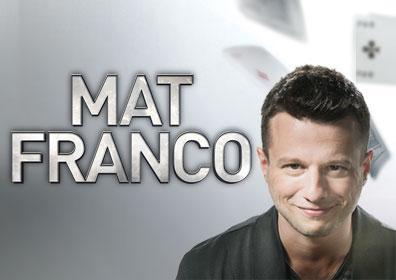 Magician Mat Franco smiling