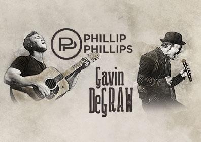 Phillip Phillips & Gavin DeGraw performing