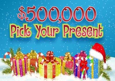 $500,000 Pick Your Present Logo