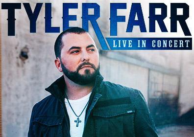 Tyler Farr concert logo