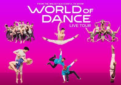 World of Dance tour members dancing