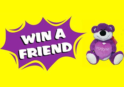 Win a Friend Advertisement