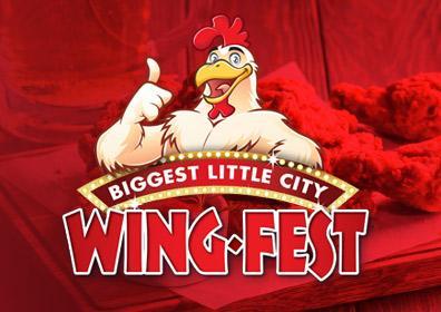 Biggest Little City Wing Fest Logo