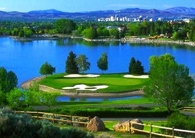 Beautiful golf course for your Reno golf packages
