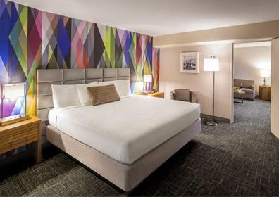 Beautiful North Tower mini suite at Circus Circus Reno