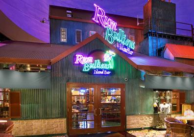 View from outside of Rum Bullions.