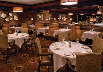 Dining Tables at The Steakhouse at Circus