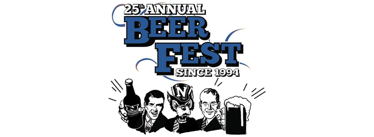 Nevada Young Alumni Beer Fest Logo