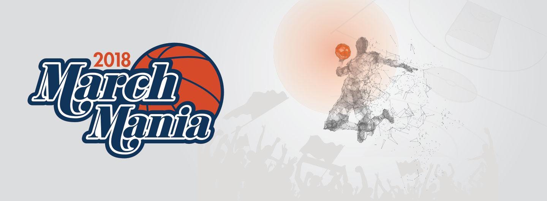 March Mania 2018 logo