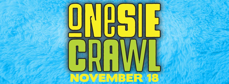 Onesie Crawl Logo