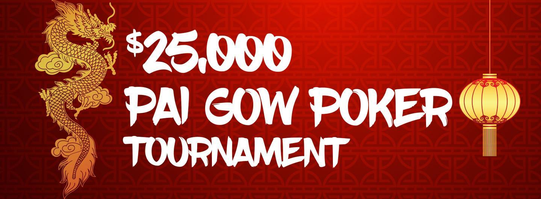 $25,000 Pai Gow Poker Tournament Logo
