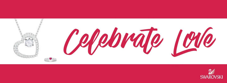 Swarovski Celebrate Love logo