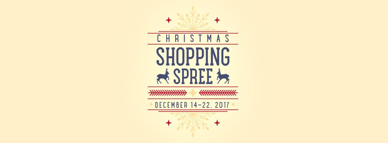 Christmas Shopping Spree logo