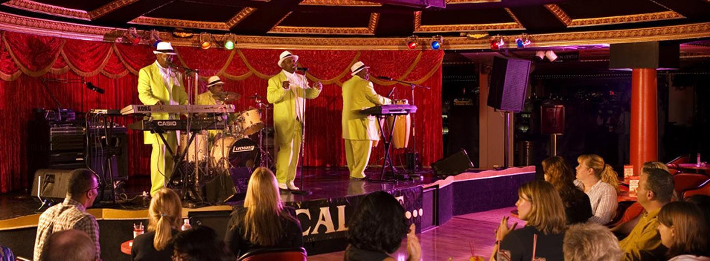 performers in the casino cabaret at Circus Circus Reno