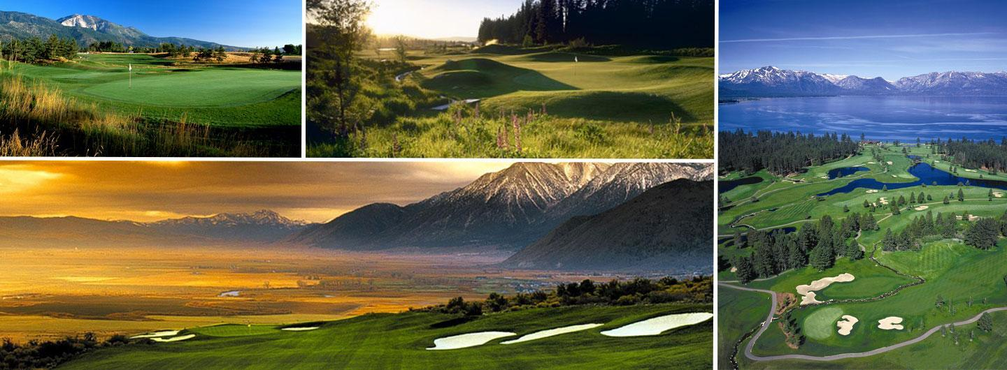 Beautiful golf courses for your Reno golf packages