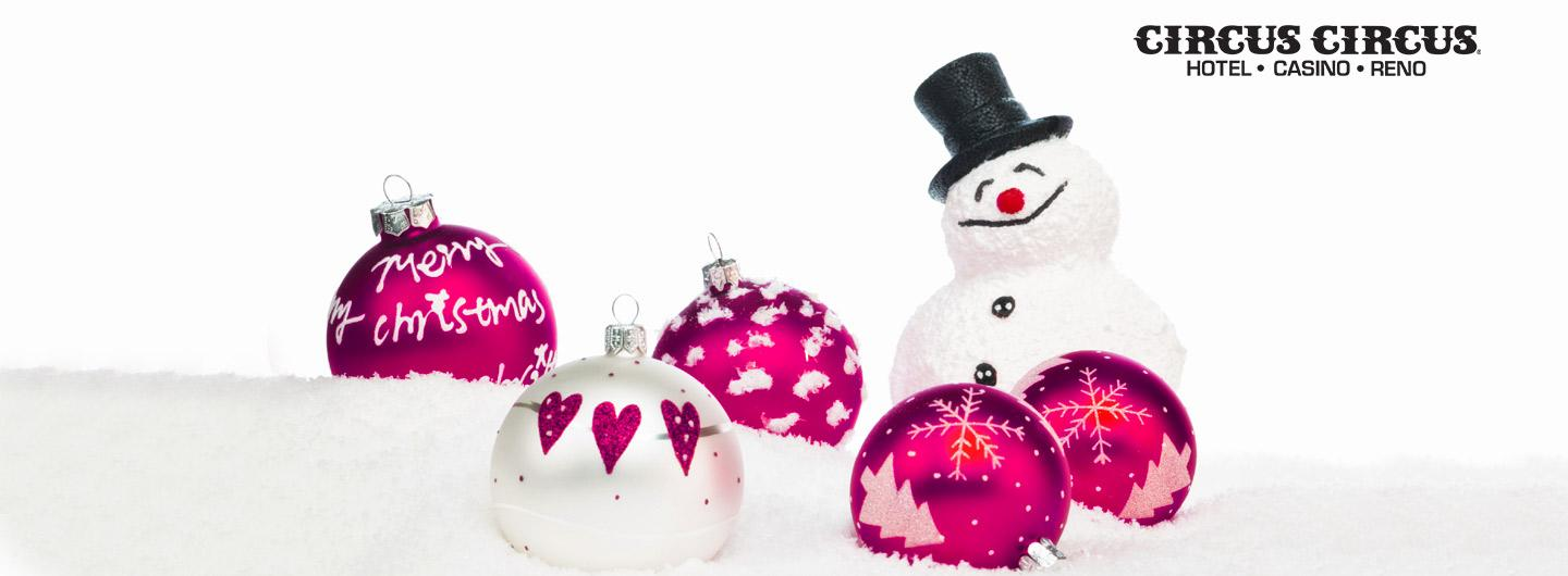 Purple Christmas tree ornaments
