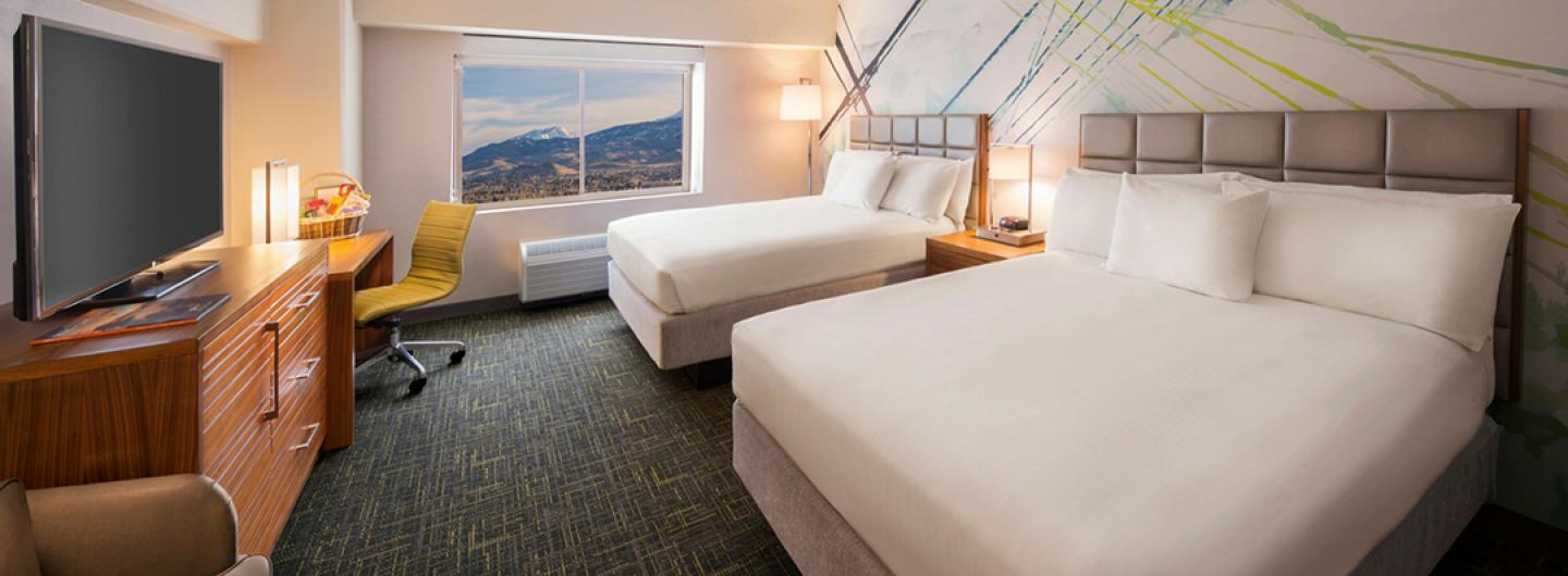 New Rooms at Circus Circus Reno Hotel